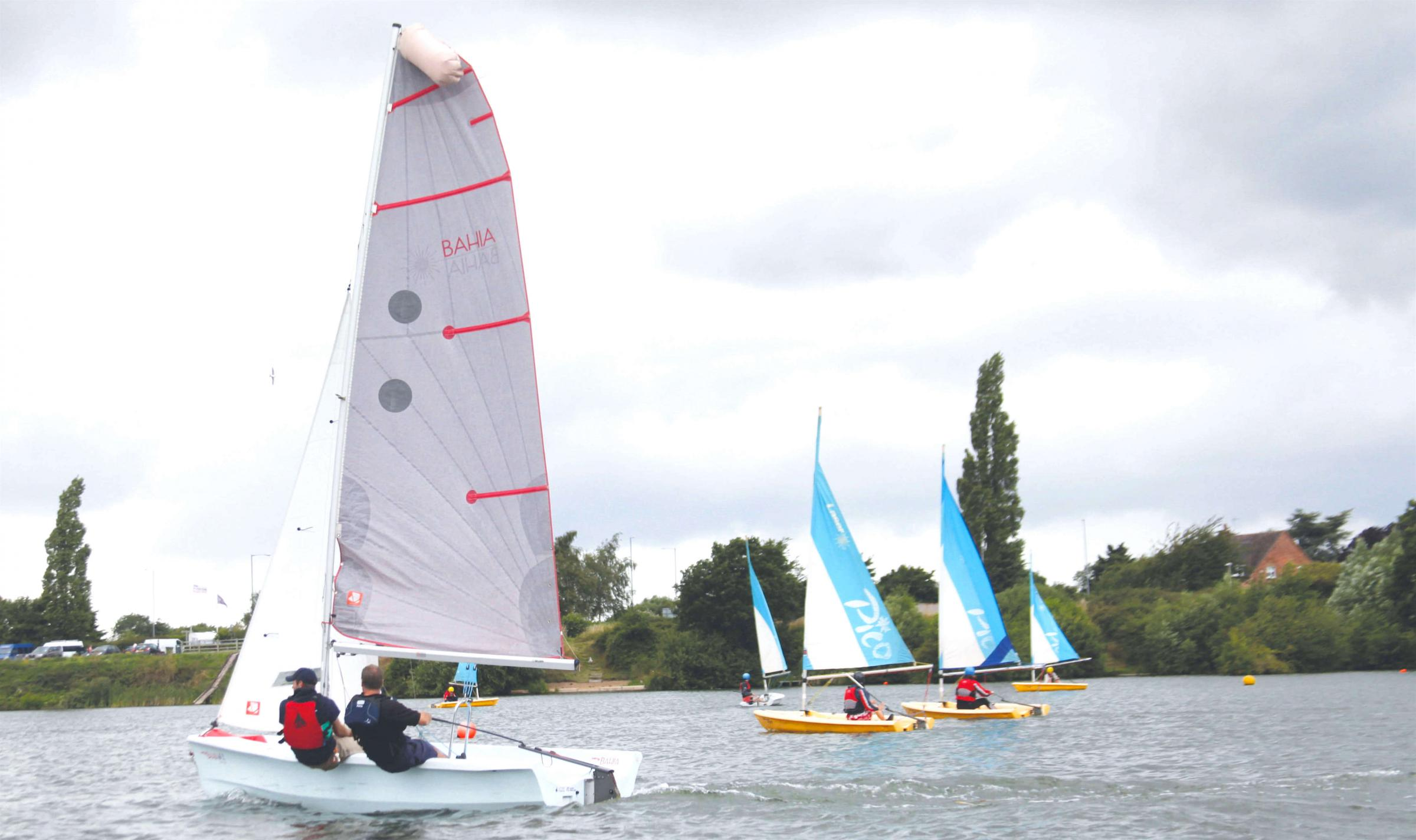 SAILING: Enjoying the water at Aztec Adventure, Upton Warren, near Wychbold. Picture: The Royal Yachting Association