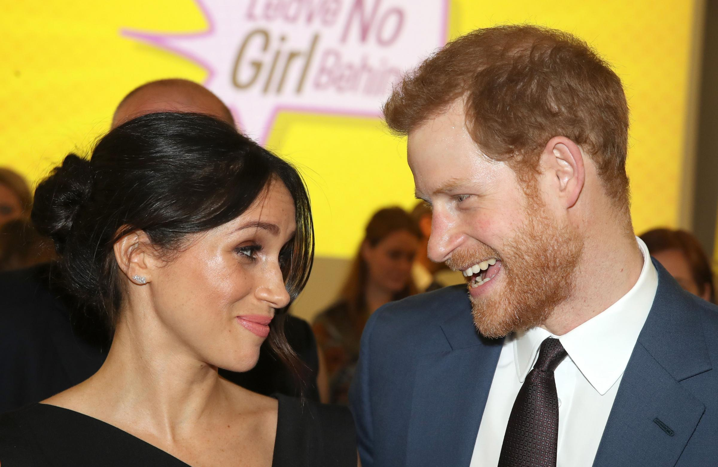 Prince Harry and Meghan Markle's wedding is one of two events screened at the fun day (Picture by Chris Jackson/PA Wire)