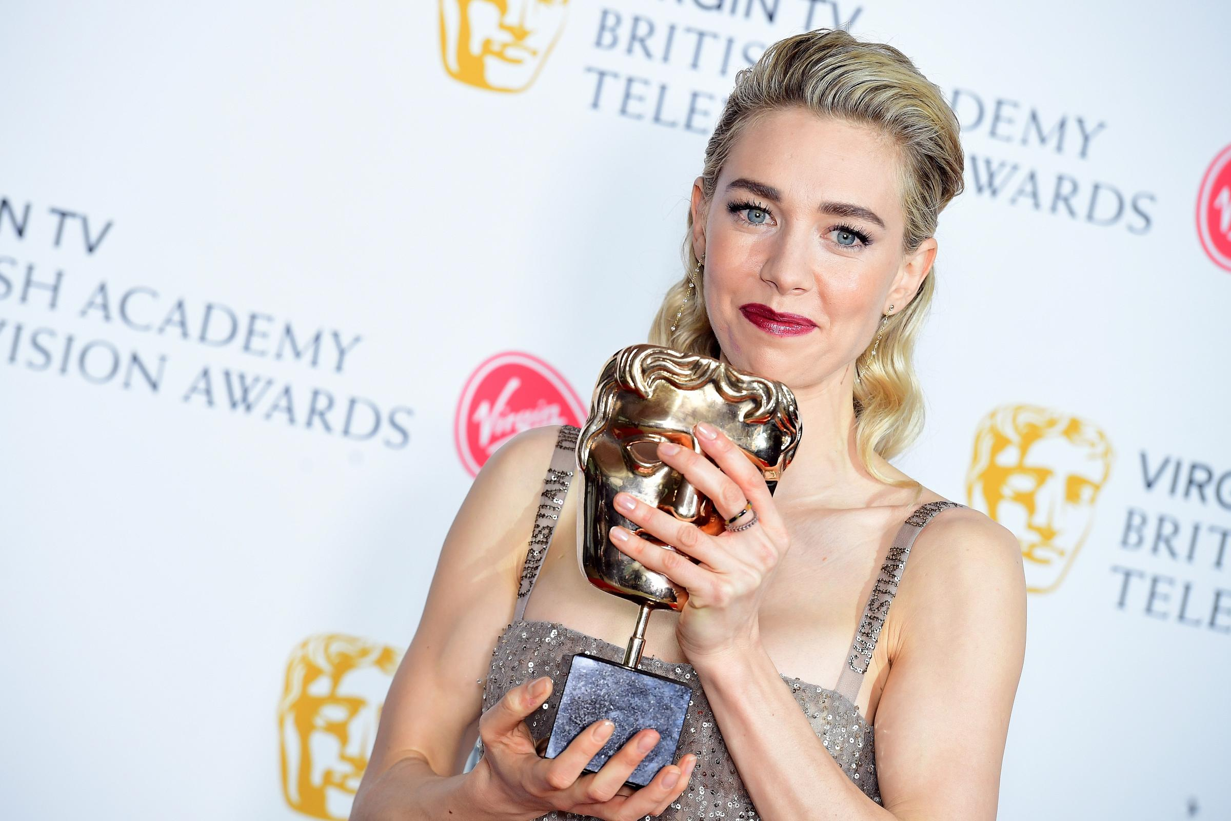 Vanessa Kirby picked up a Bafta (Ian West/PA)