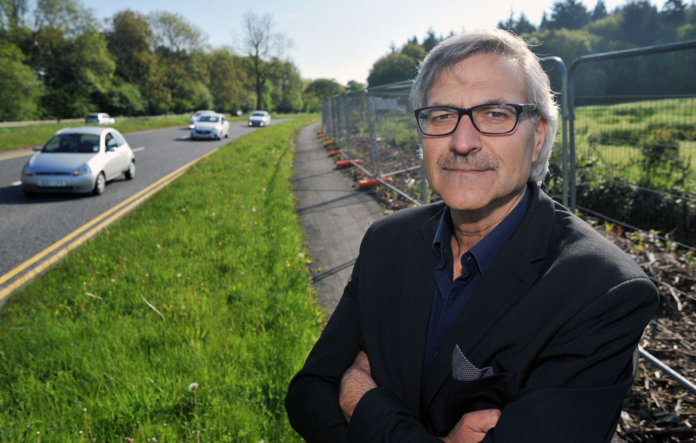 WARNINGS: Cllr Steve Colella says the A456 access point beggars belief