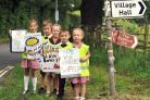 Children at Dodford First School produced posters to promote the campaign