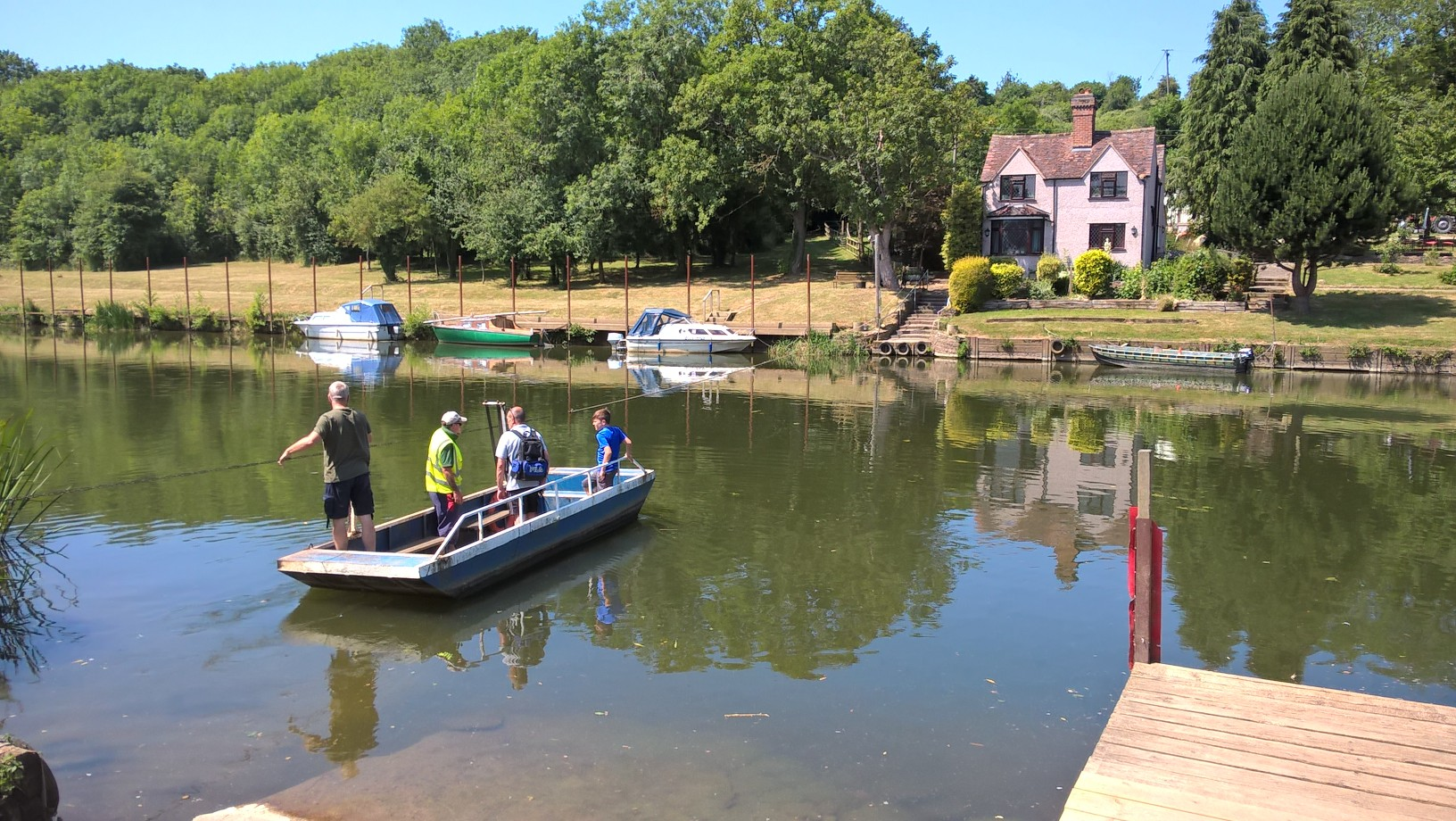 Two Rivers, a Ferry and Bread Pudding - Celebration Walk with Evesham Ramblers