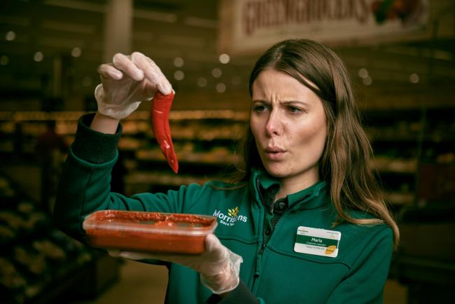 Morrisons Bromsgrove has launched the hottest supermarket curry ever - the Flaming Fiery Phaal