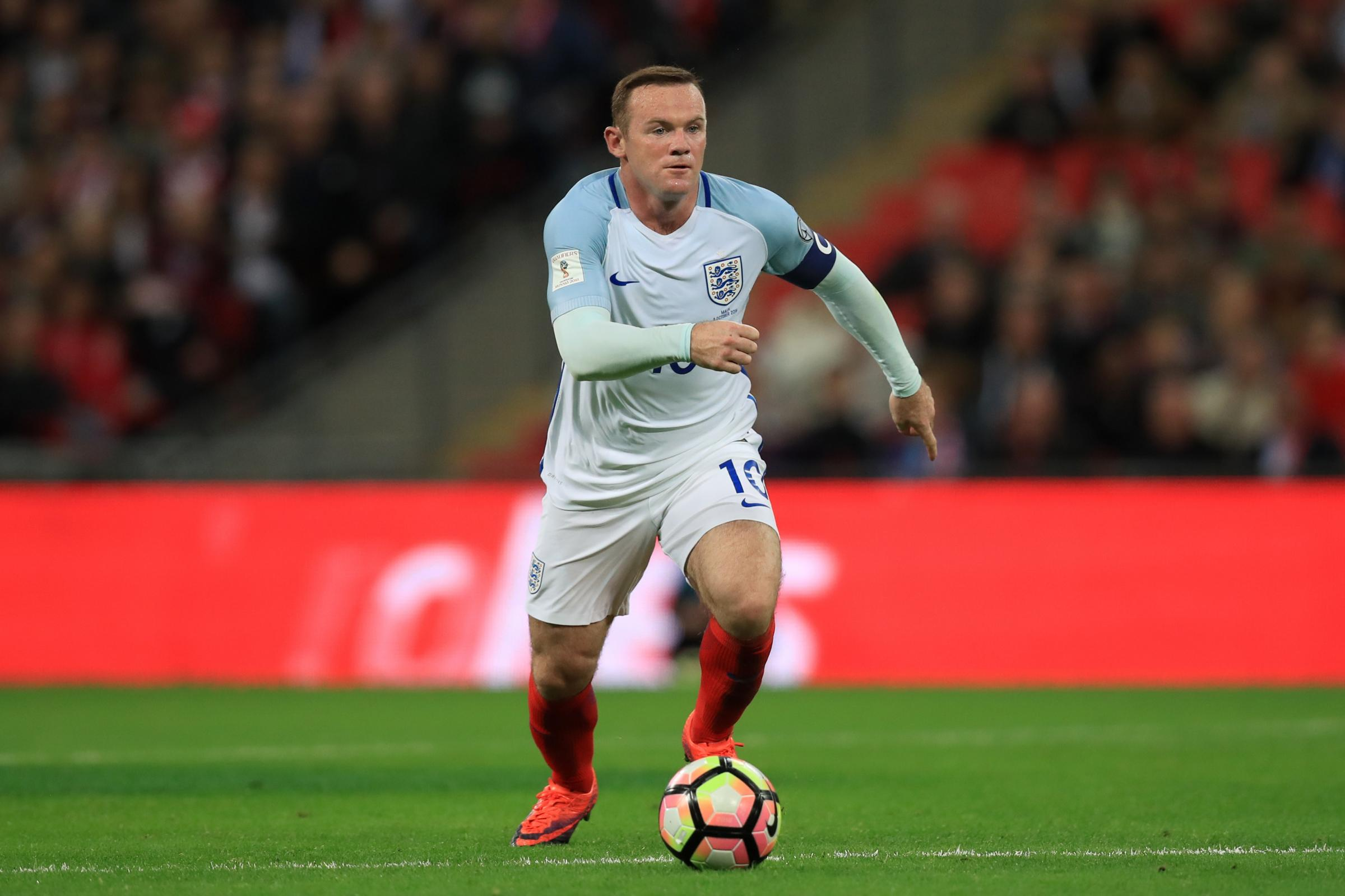 Wayne Rooney will win a final cap