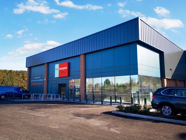 Home Bargains Opens New Store In Bromsgrove Retail Park Creating Up
