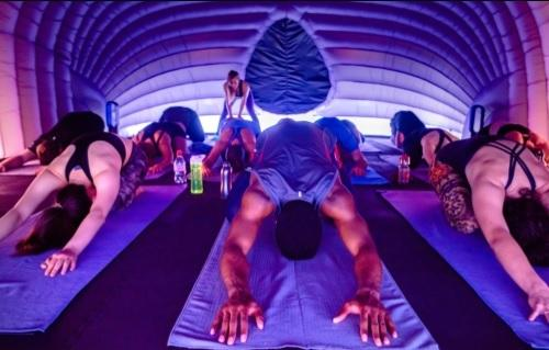And relax… Hotpod Yoga will be coming to Alvechurch