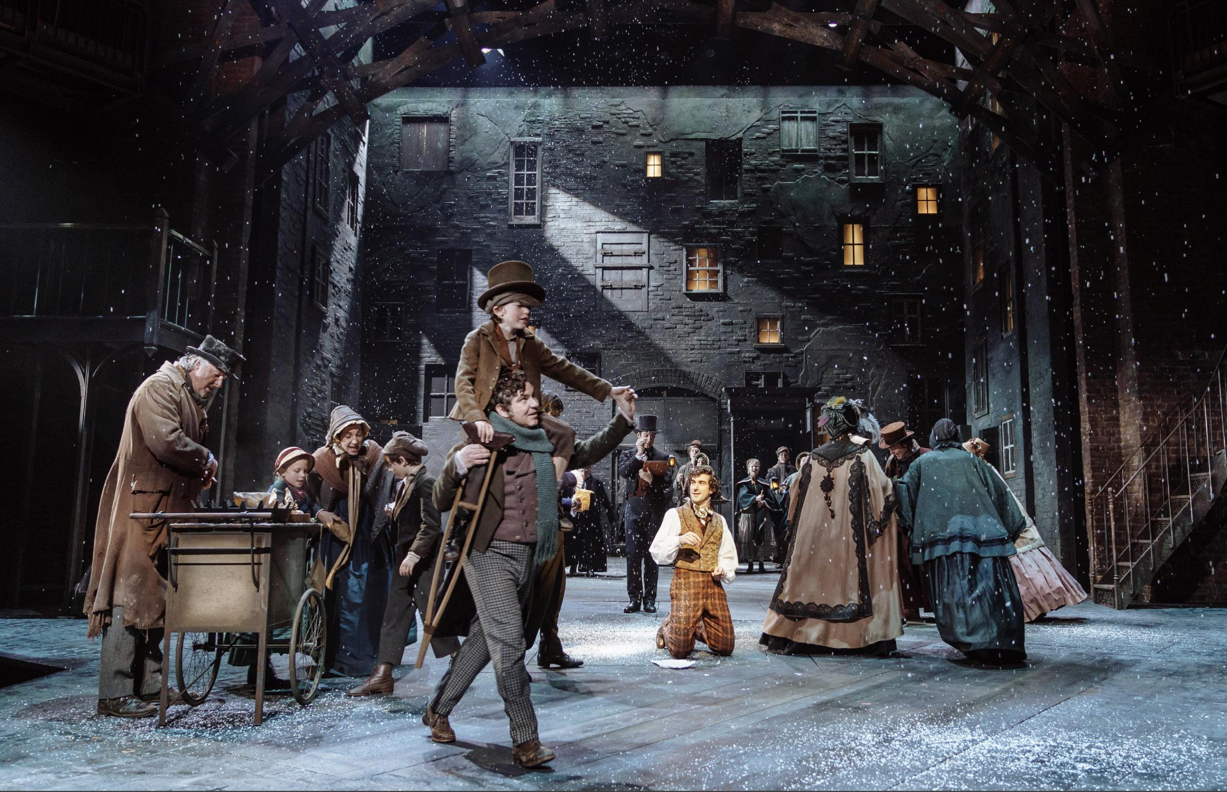FESTIVE TREAT: A scene from the RSC's production of A Christmas Carol which opens in Stratford next week. (Photo: Manuel Harlan).