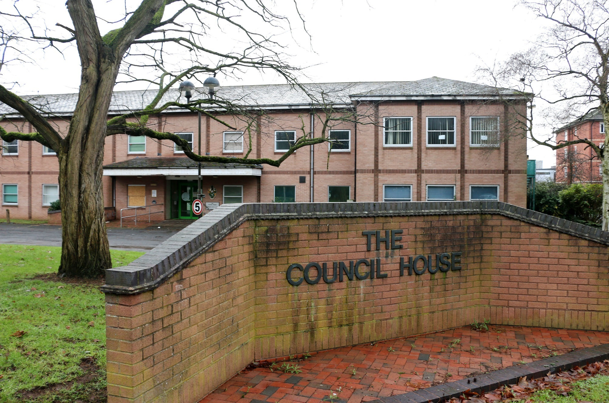 The old council house on Burcot Lane is set to be demolished