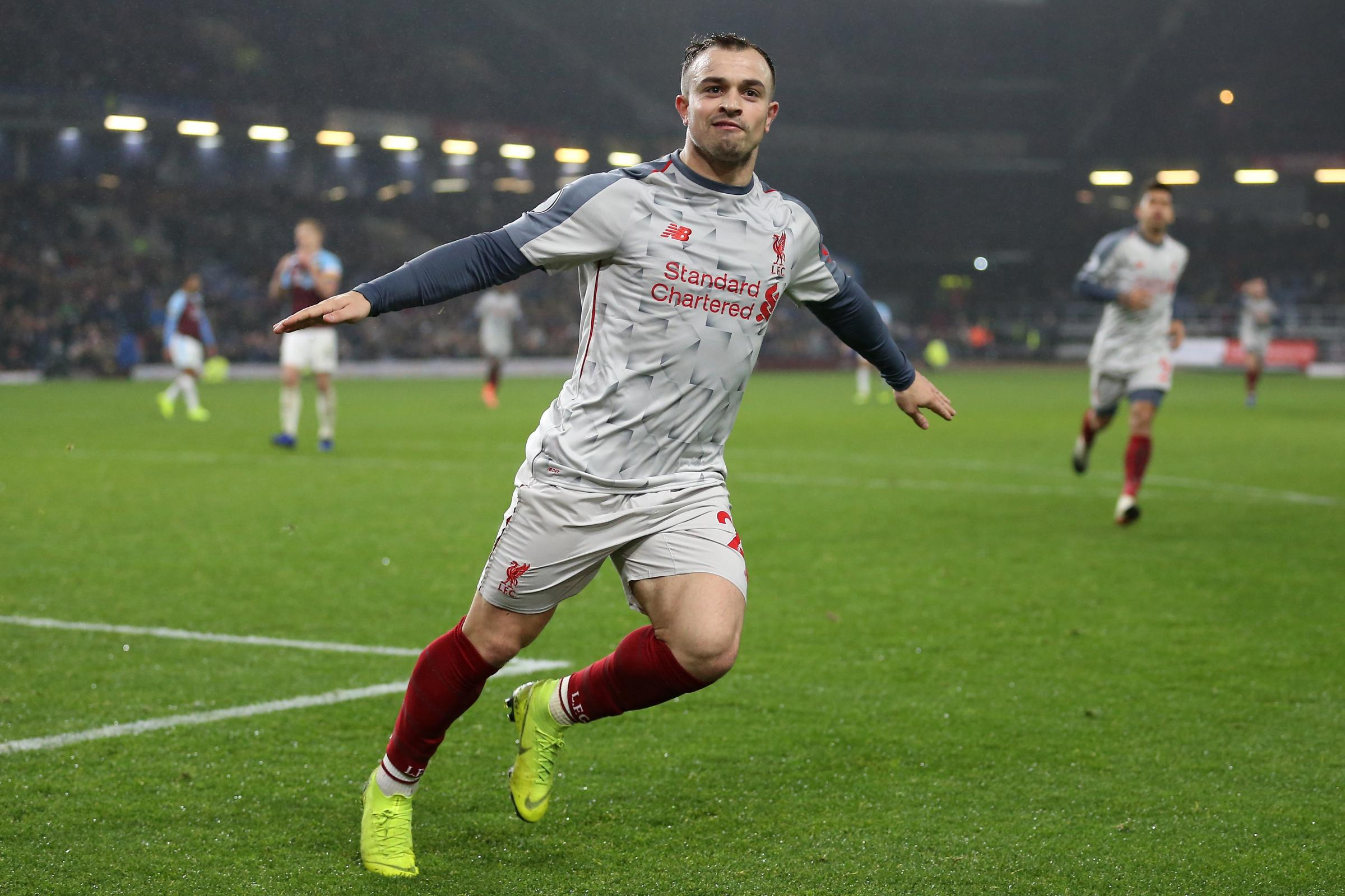 Liverpool's Xherdan Shaqiri believes a bold approach is the only route to success.