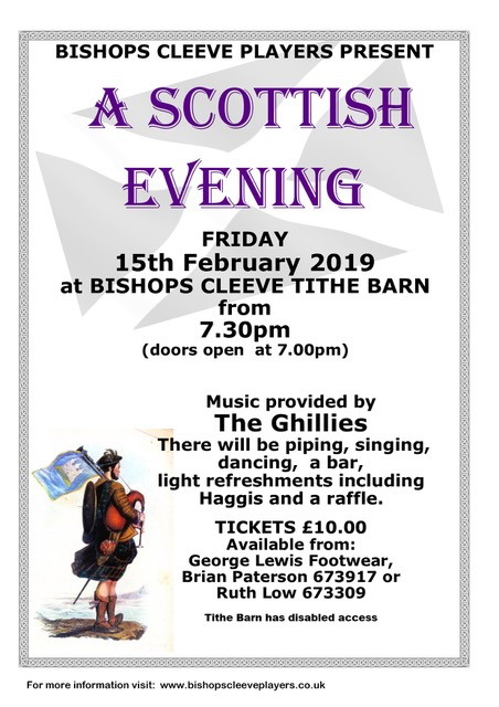Scottish Evening at The Barn