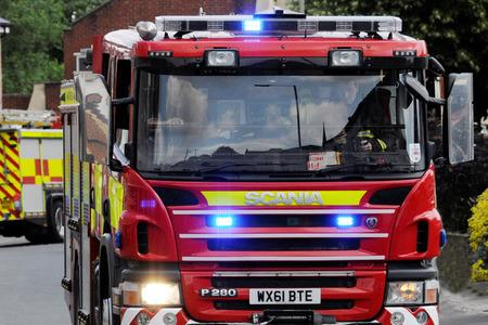 Firefighters were called to Kingsthorne late last night