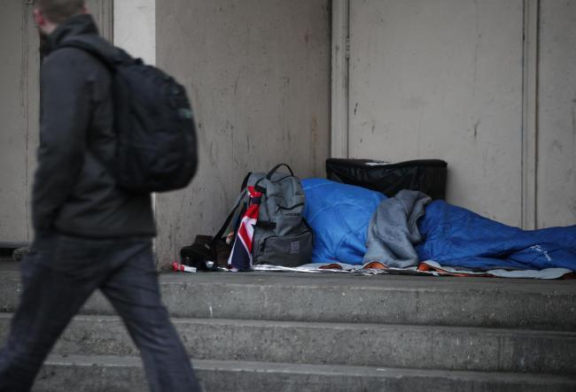 Councils will need to put up money to help with homeless prevention. Photo: Yui Mok/PA Wire