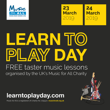 Learn to Play Day is coming to Warwickshire