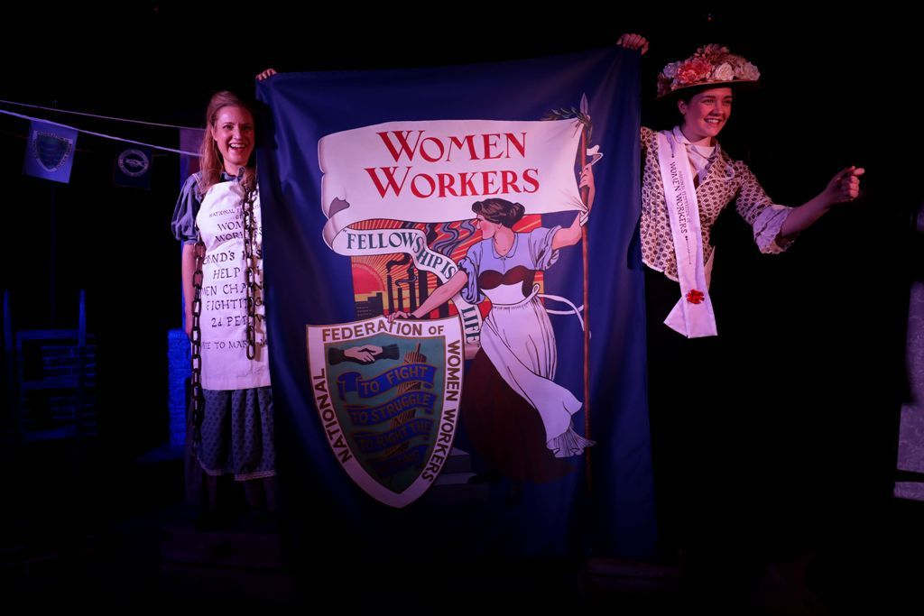 Rouse, Ye Women! is a folk-song opera that tells the story of Mary Macarthur and the chainmakers