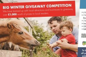 Winners: Our Winter Giveaway had some great prizes