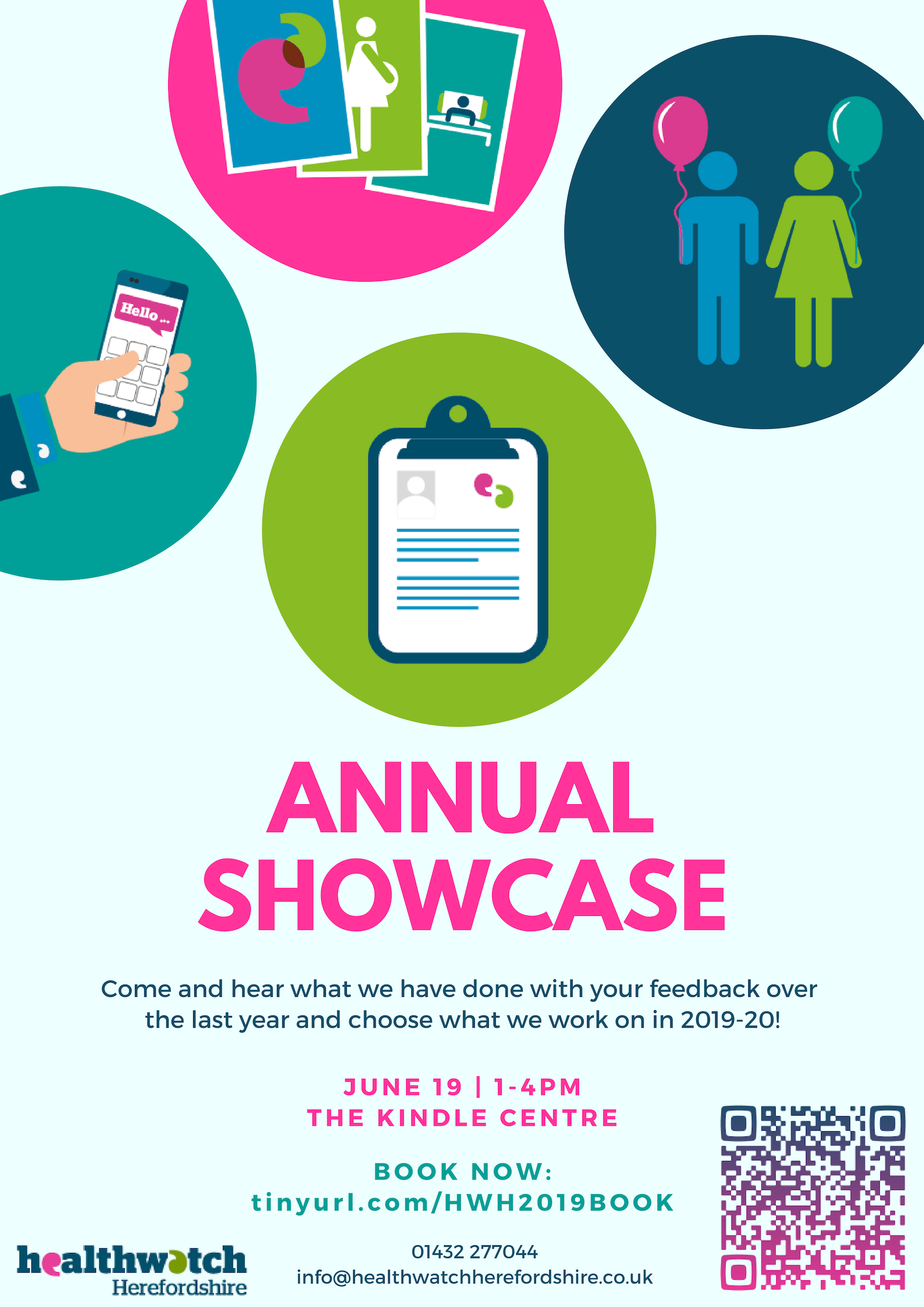Healthwatch Herefordshire Annual Showcase
