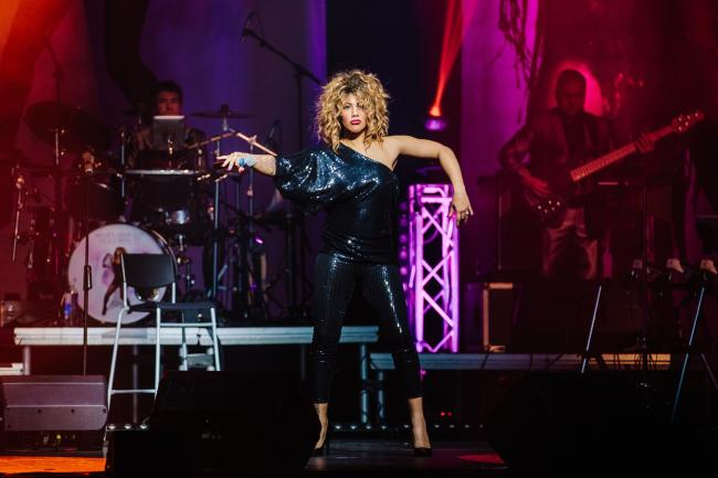 VOCAL TALENT: Elesha Paul Moses says she is thrilled to be singing Tina Turner's hits on stage.