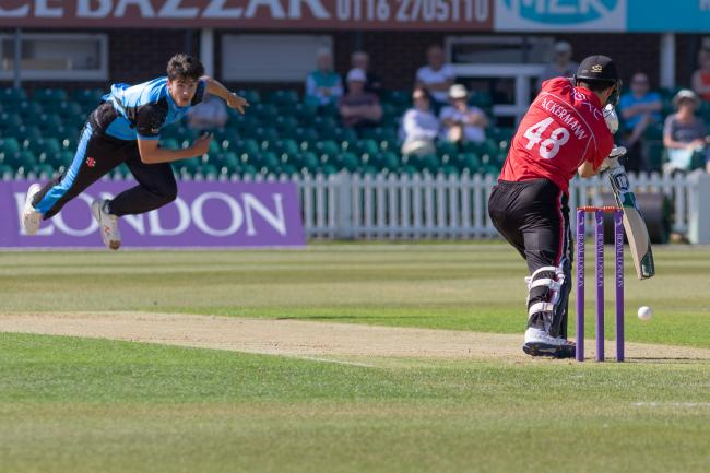 Worcestershire bowler Josh Tongue is fit again and looking to impress. Picture: JOHN MALLETT