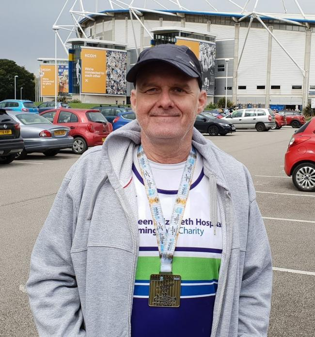 Cradley and Wollescote councillor Richard Body who as well as running for election is planning to run in a 100-mile ultra run on May 18