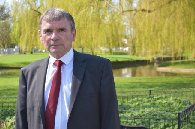 Councillor Peter McDonald wants to see funding allocated to Rubery spent there.