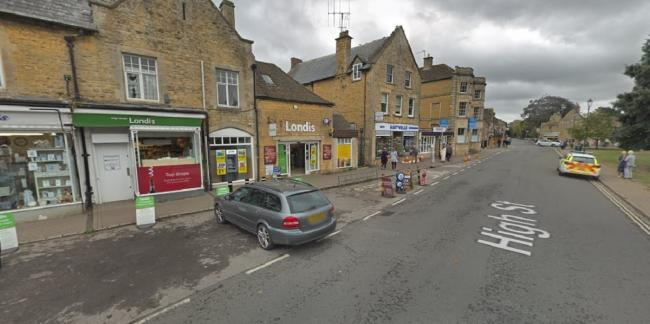 THEFT: Cash machine in Bourton-on-the-Water. Picture: Google Maps