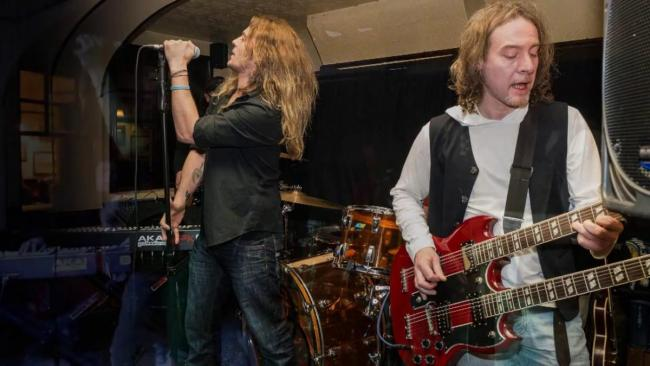 TRIBUTE: Hats Off To Led Zeppelin, in full flow
