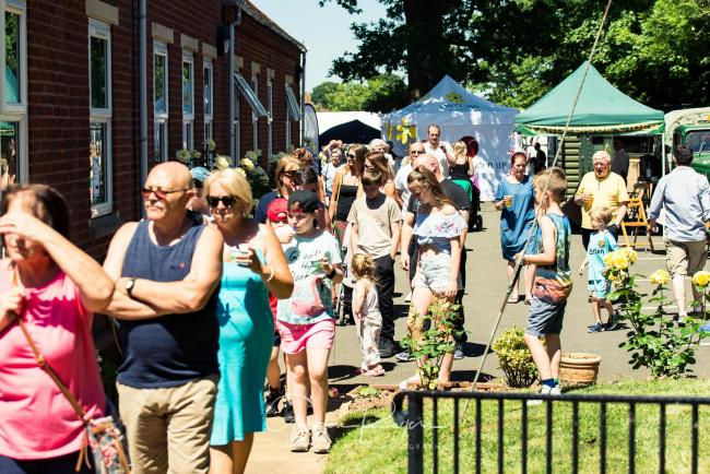 The summer fete is on Saturday, June 22