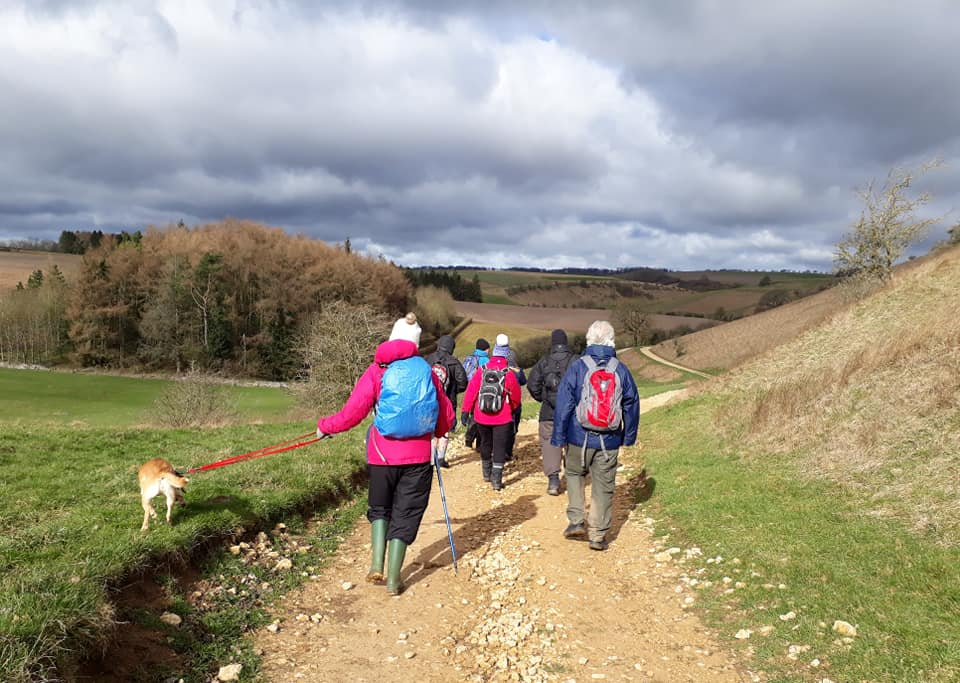 Pirton, Croome Estate and Wadborough walk  - Evesham Ramblers