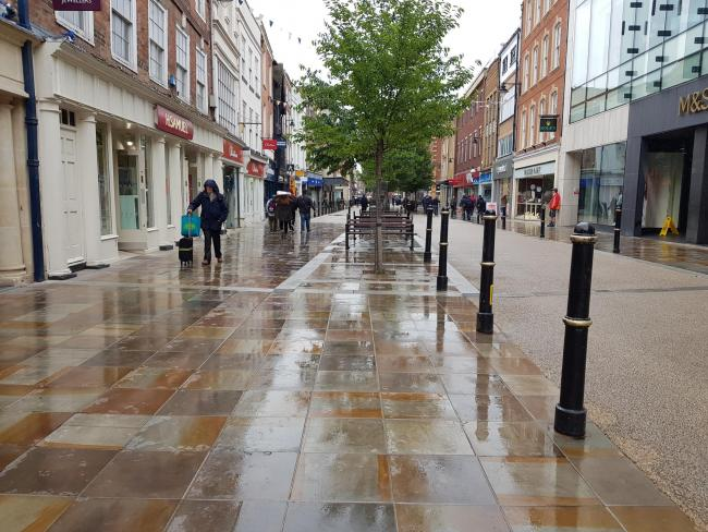 RAIN: Worcester is forecast rain for the next two days according to the Met Office