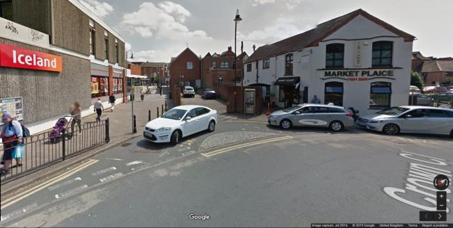 Mill Lane in Bromsgrove - picture taken from Google
