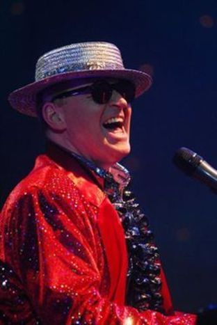 Rocket Man: Neil Lockwood as Elton John.